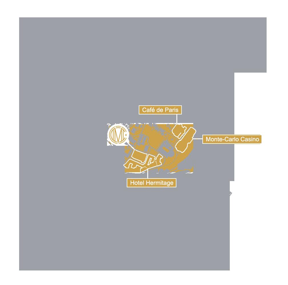 Monte Carlo Sports Car Location Map